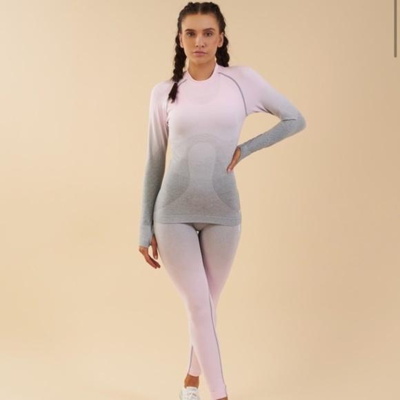 a3cf6743e3a45 Gymshark Tops | Ombre Long Sleeve | Poshmark